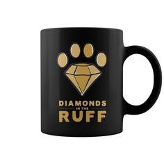 Diamonds in the ruff mug