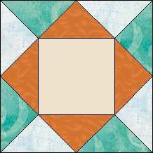 Block of Day for November 24, 2014 - Split Diamond in Square