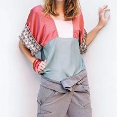 DIY Blouse kimono