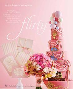 Nadia & Co. Art & Pastry | Wedding Co. Magazine 2013 | Cake Design | ****