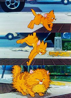 Oliver and company- Hahaha, aw i remember watching this all the time at my granny's :)