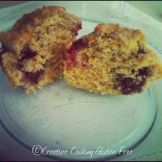 Berry Corn Muffins