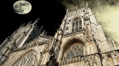 York Minster, one of the largest Gothic cathedrals in Europe, in Yorkshire, England.