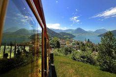 Rigibahn above Lake Lucerne