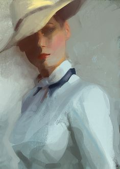 Craig Mullins. Might not recognize the woman, but the attitude is clear.