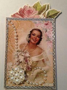 Wedding ATC Artist Trading Card