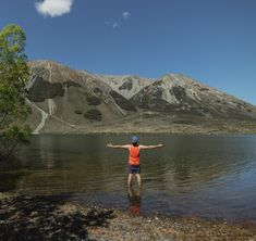Cooling my feet down after a 5 hr hike up Mt Purple above Lake Pearson, in Canterbury, New Zealand. Day walks in Canterbury Adventure Photography, Canterbury, Mount Rainier, Walks, New Zealand, Hiking, Van, Mountains, Photo And Video