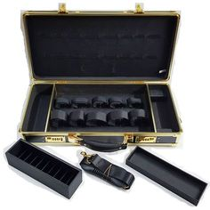 HairArt Barber Case - Black & Gold #791530
