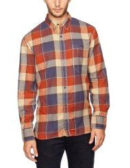 French Connection Men's Grapple Twill Check Button Down Shirt