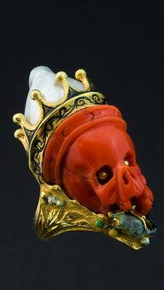☆ One of Codognato's Now-legendary Skull Ring :¦: Photo courtesy Codognato ☆