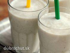 Biele raňajkové smoothie