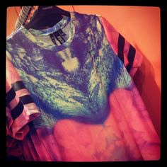 #SOCIALSTYLIST Alex loves this graphic Topshop tee.