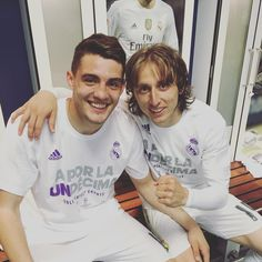 Mateo Kovacic & Luka Modric Real Madrid a por la undecima