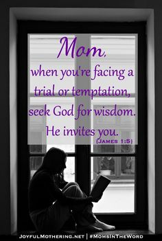 No wisdom of man can surpass the wisdom of God. Which leads us full circle to making certain we are spending time with Him daily, reading His word and praying for understanding from the Holy Spirit. #JoyfulMothering #MomsInTheWord