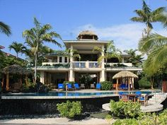 Kona Bay Hawaii Beachfront Tropical Paradise Stunning Home