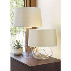 Zak and Jack Table Lamps | Crate and Barrel