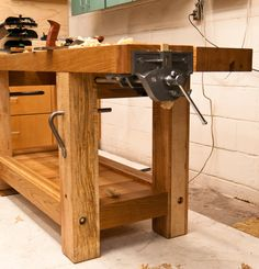 Split-top Roubo workbench - by denovich @ LumberJocks.com ~ woodworking community