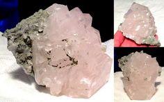 "4"" Angelic Realm Pink Calcite Specimen Metaphysical Reiki Energy, Angel, Archangel, Spirit Guide, Crystal Healing"
