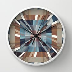 All This Time Wall Clock by Danny Ivan - $30.00