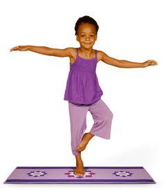 Meet the Maker: Jensen Wheeler Wolfe, The Little Yoga Mat on http://blog.gifts.com