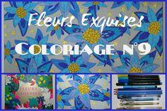 Fleurs exquises - Coloriage n°9 #fleursexquises #harmoniesolar #solareditions #solar #coloriage #coloriageantistress #coloriagepouradultes #artthérapie #arttherapie #vidéo
