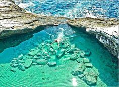 The Breathtaking Giola Lagoon, Thasos island Macedonia is one of the Most Beautiful Regions of Greece /  Love Your Mother <3