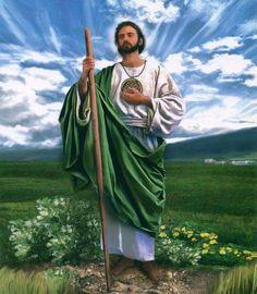 Imagen de San Judas Tadeo, el santo de las causas difíciles, imposibles y desesperadas