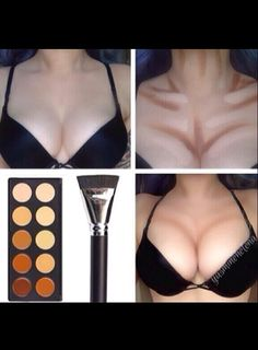 How To Make Your Breasts Look Fuller... Hahaha just what I need