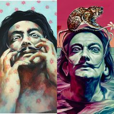 Salvador dali. what a difference three years can make. http://ift.tt/2caA93i