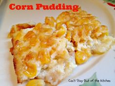 Corn Pudding - Holiday Dinners 555