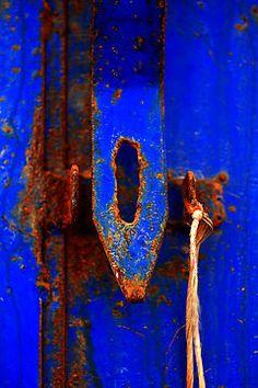 Moroccan Rust III by Damienne BIngham ~