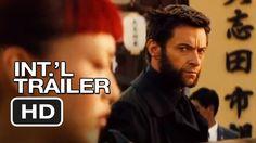 The Wolverine Official International Trailer #1 - Hugh Jackman Movie HD, via YouTube.