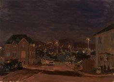 Danny Markey (British, b. 1965), End of the Street at Night, 2011