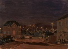 End of the Street at Night  - Danny Markey 2011
