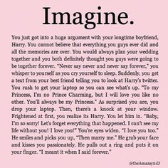 well that's just cute. Imagine with Harry. (Courtney!)