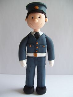 Raf cake topper - so glad Clarke may wear his uniform for our wedding