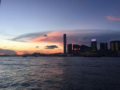 Sunset on #Kowloon // #delta #startup #socialgood #philanthropy #riseconf