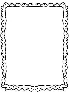 Free Art Deco Borders | Black And White Clip Art Borders And Frames 1 ...