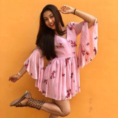 Tujhse Hai Raabta actress Reem Shaikh looks like a diva Photogallery. Tujhse Hai Raabta actress Reem Shaikh looks like a diva Photogallery at ETimes Bollywood Outfits, Bollywood Fashion, Short Frocks, Teen Celebrities, Celebs, Cute Girl Pic, Fashion Prints, Fashion Design, Teen Actresses