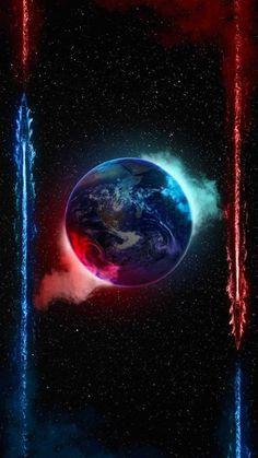 Earth Smoke IPhone Wallpaper - IPhone Wallpapers