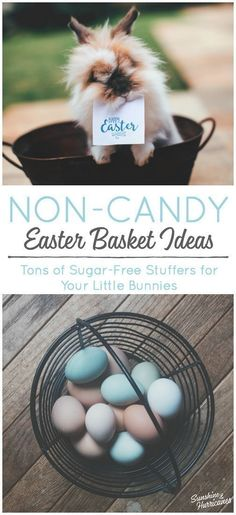 Tons of NON-CANDY Easter Basket Ideas for kids that are affordable, fun and even kinda silly. You're kids will love these and so will you when you don't have a house full of little bunnies all hopped up on sugar. via Sunshine and Hurricanes Parenting Books, Parenting Articles, Parent Resources, Easter Crafts For Kids, Family Traditions, Craft Stick Crafts, Easter Baskets, Basket Ideas, Best Part Of Me