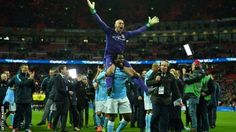 League Cup: Man City keeper Willy Caballero 'deserved to play'