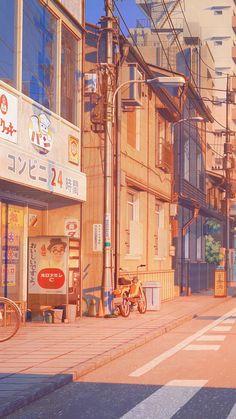 💋Follow Pinterest : binh10072007 [ Save = Follow Me ] Whats Wallpaper, City Wallpaper, Anime Scenery Wallpaper, Aesthetic Pastel Wallpaper, Kawaii Wallpaper, Aesthetic Backgrounds, Aesthetic Wallpapers, Japan Wallpaper, Aesthetic Japan
