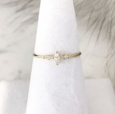 Avalon Marquise Crystal Ring, Minimalist ring, Crystal ring, stackable ring, Statement ring, thin gold ring, stacking ring, dainty ring, thi by StatementGrey on Etsy https://www.etsy.com/listing/490027558/avalon-marquise-crystal-ring-minimalist