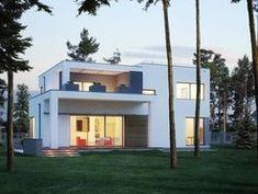 DOM.PL™ - Projekt domu ED E-137 CE - DOM ED1-37 - gotowy koszt budowy Home Fashion, Mansions, House Styles, Home Decor, Decoration Home, Manor Houses, Room Decor, Villas, Mansion