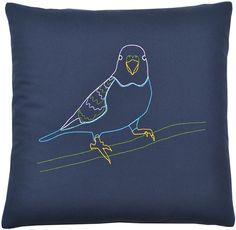 Parakeet Pillow