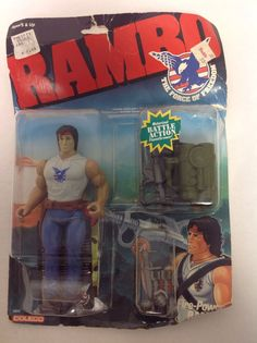 Coleco FIRE POWER RAMBO Vintage Action Figure Carded Force Of Freedom in Toys & Games, Action Figures, TV, Movies & Video Games | eBay