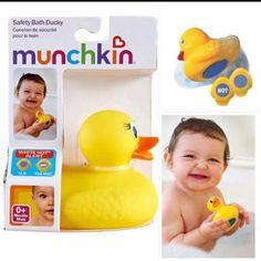 """""""PATINHO TERMÔMETRO MUNCHKIN Patinho de borracha e termômetro! Super divertido para seu bebê!Revela a palavra HOT em branco no botão azul na parte inferior do pato quando a água está muito quente.Permanece constantemente à tona. Novo! - Pronta entrega! R$3000 Para comprar Whatsapp (19)99670-0210 direct ou acesse http://ift.tt/2aoJsL9  http://ift.tt/2dzyMwK Nossos produtos podem ser retirados em Indaiatuba/SP. Pagamentos podem ser efetuados por depósito no Itaú cartão de crédito ou débito…"""