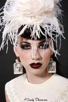 Items similar to Wedding Headpiece Flower Fascinator Hat on Etsy Fascinator Hairstyles, Fascinator Hats, Hat Hairstyles, Flower Headpiece Wedding, Love Hat, Derby Hats, Pretty Cool, Headdress, Hats For Women