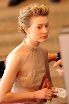 Cannes International Film Festival Hair: Mia Wasikowska